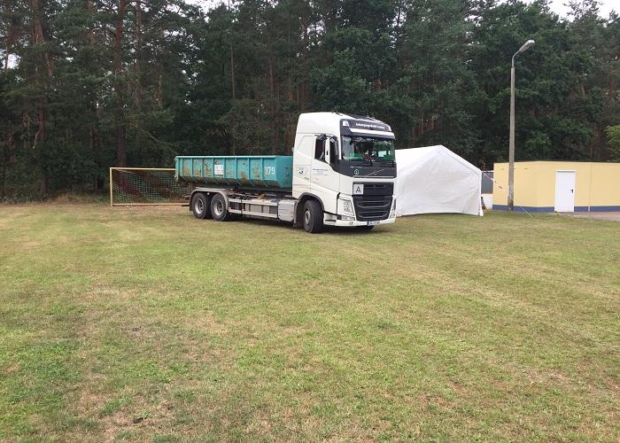 Abrollcontainer 36m³ | Entsorgungs - GmbH Luckau