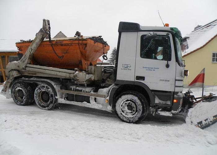 Winterdienst | Entsorgungs - GmbH Luckau
