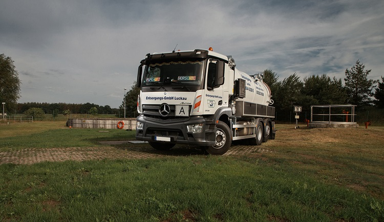 Fäkalienfahrzeuge | Entsorgungs - GmbH Luckau